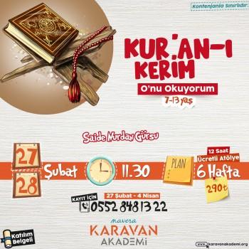 Kur'an-ı Kerim Atölyesi
